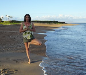 karamaui tree pose